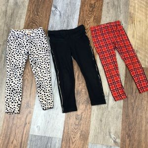 Carter's and genuine kids leggings bundle size 4t